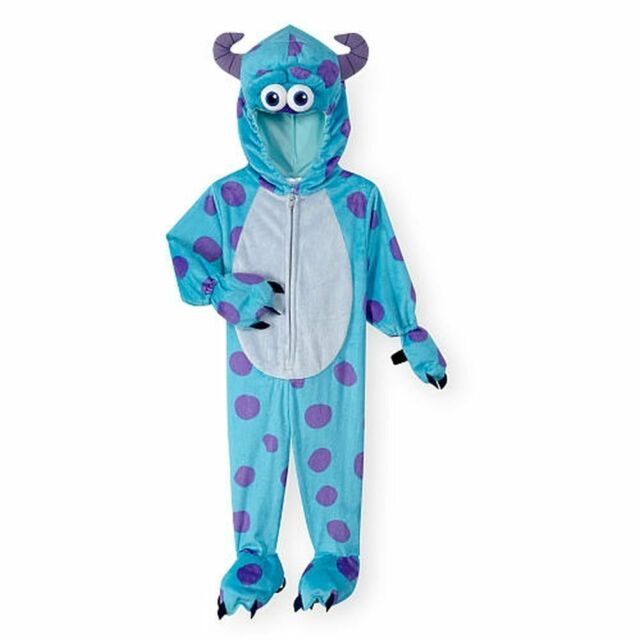 Disney Blue Purple Monsters Inc Sulley Halloween Costume Unisex 4t 5t New 2016 For Sale Online
