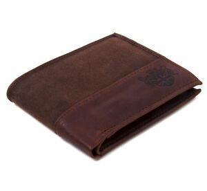 Brown-Wax-Canvas-amp-Leather-Credit-Card-Wallet