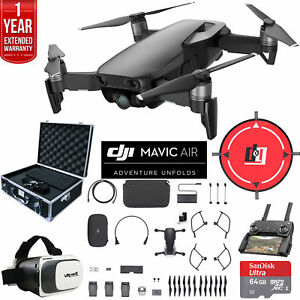 DJI-Mavic-Air-Fly-More-Combo-Onyx-Black-Drone-Deluxe-Fly-With-Warranty-Extension