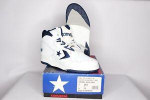 0c608cca827 Vtg 90s New Converse Mens 7 Cons 500 Classic Hi Basketball Shoes ...