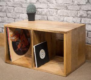 Delightful Image Is Loading SOLID MANGO WOOD 2 HOLE LP RECORD VINYL