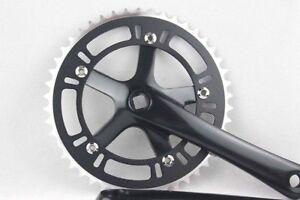 Fixed-Gear-48T-Crank-Set-Bike-Bicycle-Aluminum-Chainwheel-Crank-Set-Single