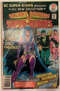 1977-DC-SUPER-STARS-SECRET-ORIGINS-OF-SUPER-HEROES-17-1st-appearance-HUNTRESS