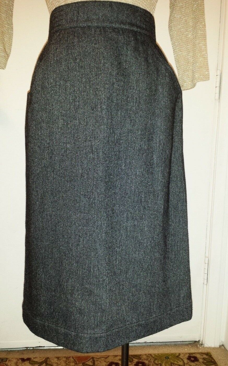 Ladies KRIZIA Pencil Skirt Wool Blend size 42 made in  New