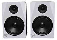 "Rockville APM8W 8"" 2-Way 500W Active/Powered USB Studio Monitor Speakers Pair"