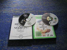 BLACK & WHITE PC 1 und 2 Kult Black and White Deutsch genialer Spielspass