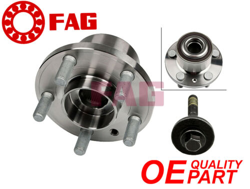 FRONT WHEEL BEARING HUB BOLT KIT OEM FAG GERMANY S-MAX FOR FORD SMAX GALAXY 06