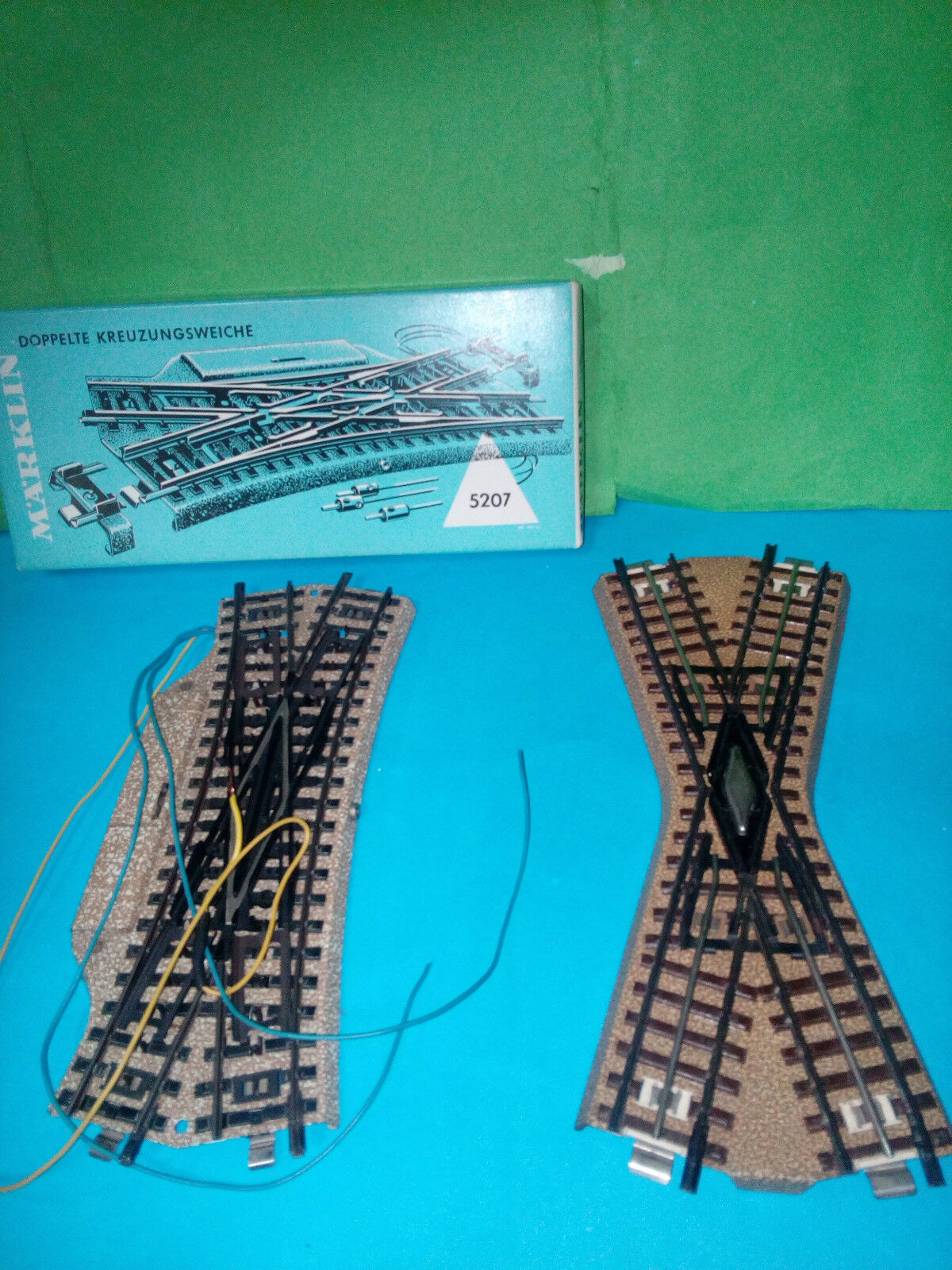 Marklin crossings English 5207 and third rail