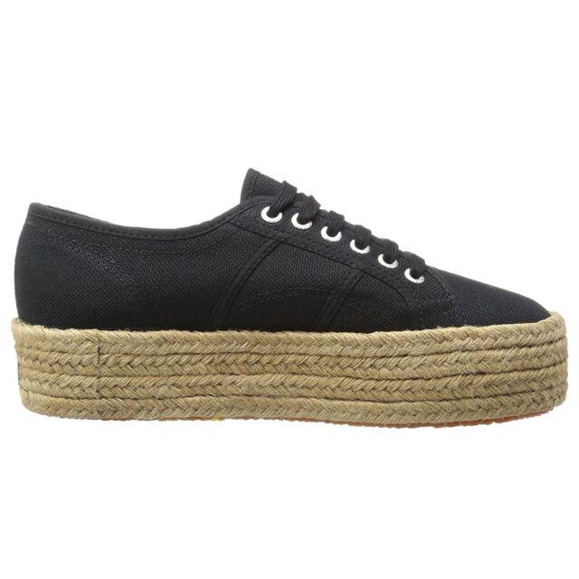 4365cb0e148 Superga Shoes Women s SNEAKERS 2790 COTROPEW Black Women EUR 41 for ...