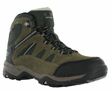 18b43a828a5 Hi-Tec Mens Bandera II Waterproof Boot Leather Standard Fit Lace Walking  Hiking