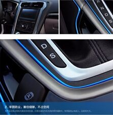5M AUTO ACCESSORIES CAR Universal Interior Decorative Blue Strip CHROME Shiny