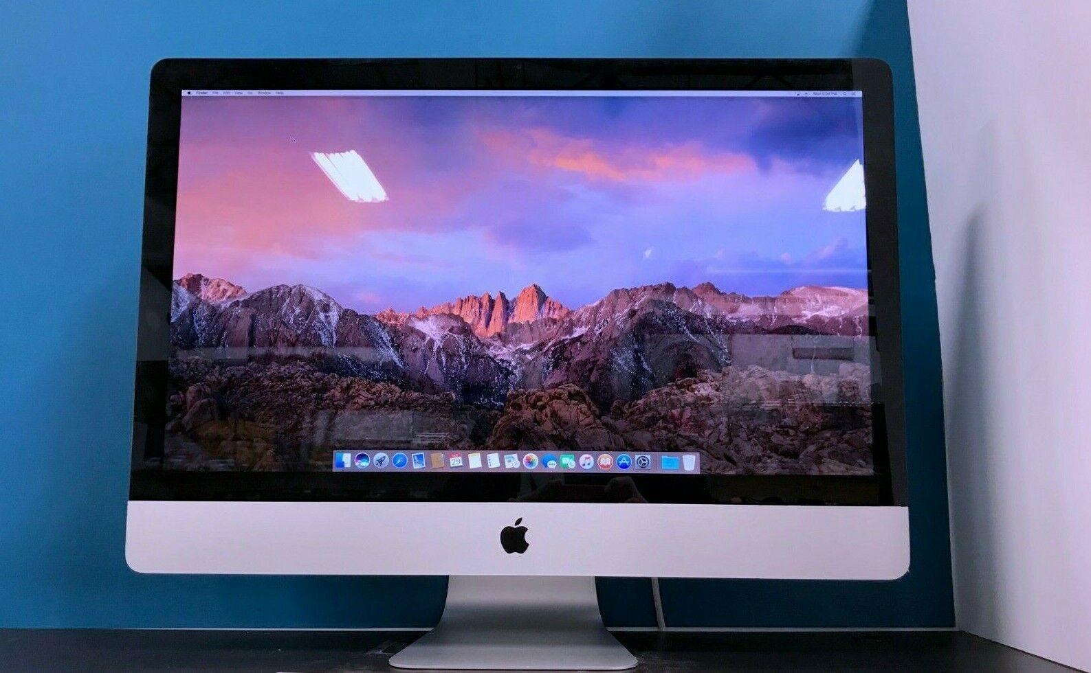 Apple iMac 27 Desktop All-In-One | 3.7GHZ TURBO | 1TB | OS2019 | 2 YEAR WARRANTY. Buy it now for 699.00