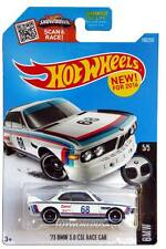 2016 Hot Wheels #190 BMW 1973 BMW 3.0 CSL Race Car