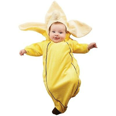 Banana Costume Baby Newborn Halloween Fancy Dress