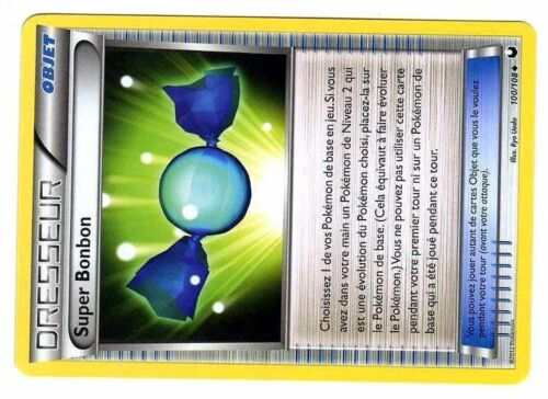 NOIR /& BLANC EXPLORATEURS OBSCURS UNCO N° 100//108 SUPER BONBON POKEMON