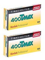 (10 Rolls) Kodak TMAX 400 120 Film TMY T-Max Black & White B&W FRESH