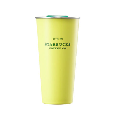 Starbucks Korea 2018 Summer limited SS DW yellow to go tumbler 473ml