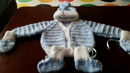 Hand Knitted Baby Cardigan sets