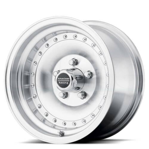 15x7 Machine Wheel American Racing AR61 Outlaw I 5x114.3-6 1