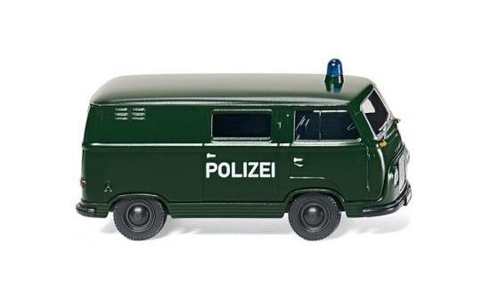 #086423 - Wiking Polizei - Ford FK 1000  Kastenwagen - 1:87