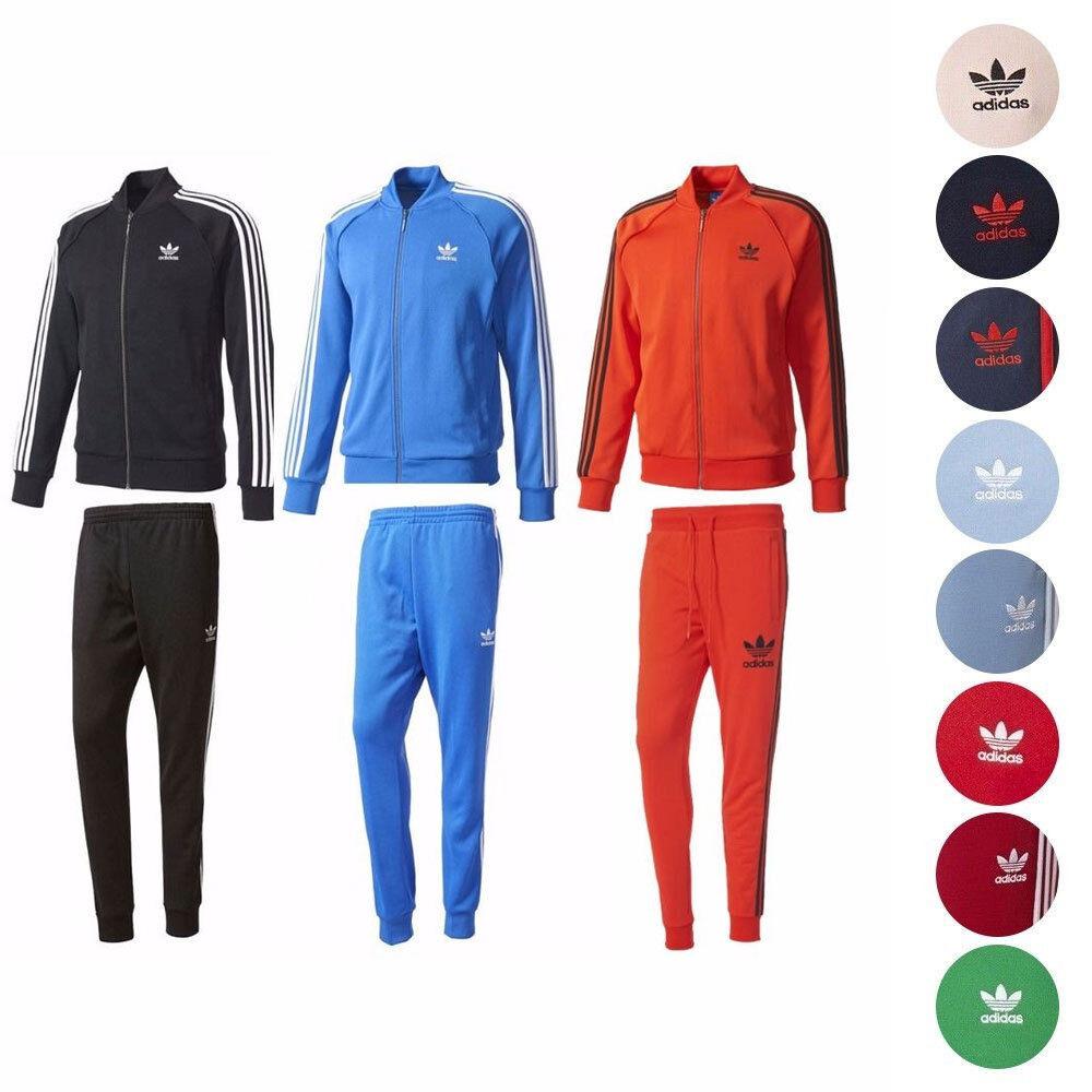 Adidas Originals Verschiedene Superstar Track Jacket Cuffed Pants Collection Herren