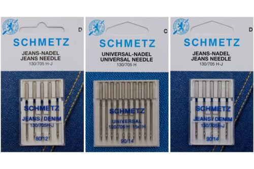 Universal 90 // Jeans 80 // Jeans 90 20 Schmetz Nadeln für Nähmaschine