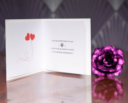 Romantic Love of my life card wedding birthday anniversary Key to my heart