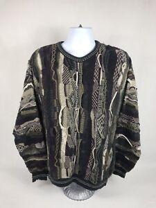 bd5ee54e685e6 Men s Vintage Croft   Barrow 90 s Hip-Hop Crewneck Sweater Size LT ...