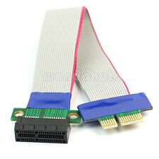 14.5cm Cable Conversor Tarjeta Vertical de PCI-E Express 1x Adaptador Extensión