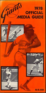 1978-San-Francisco-Giants-Media-Press-Guide-Yearbook-Program-McCovey-Tom-Haller