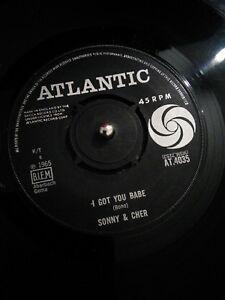Sonny-amp-Cher-I-Got-You-Babe-Vinyl-7-034-Single-UK-AT-4035-1965