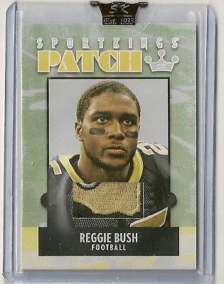 Reggie Bush 2007 Sportkings Series A 3 Color New Orleans