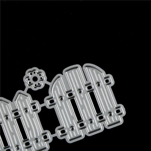 Zaun Design Metall Schneiden Sterben Für DIY Scrapbooking Album Papierkarten ZP