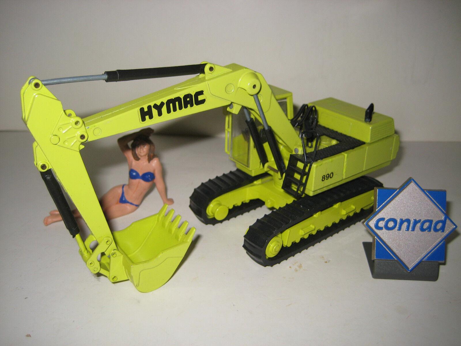 HYMAC 890 Excavateurs tieflöffel à chenilles  2730 CONRAD 1 50