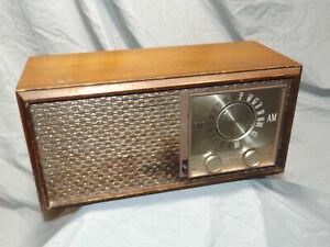 Zenith-M730-Tube-Radio-Wood-Case-AM-FM-AFC-Plays-1959-USA