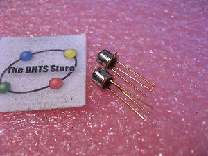 Motorola-2N4093-N-Channel-JFET-Silicon-Si-Transistor-NOS-Qty-2