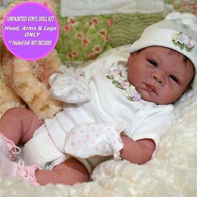 "Reborn Kit Natalie 18 /"" doll vinyl kit parts unpainted make it FREE GIFT"