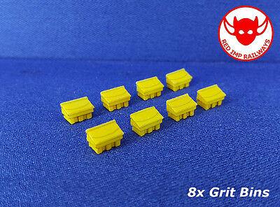N Gauge Model Railway Kit Safety Barriers x8
