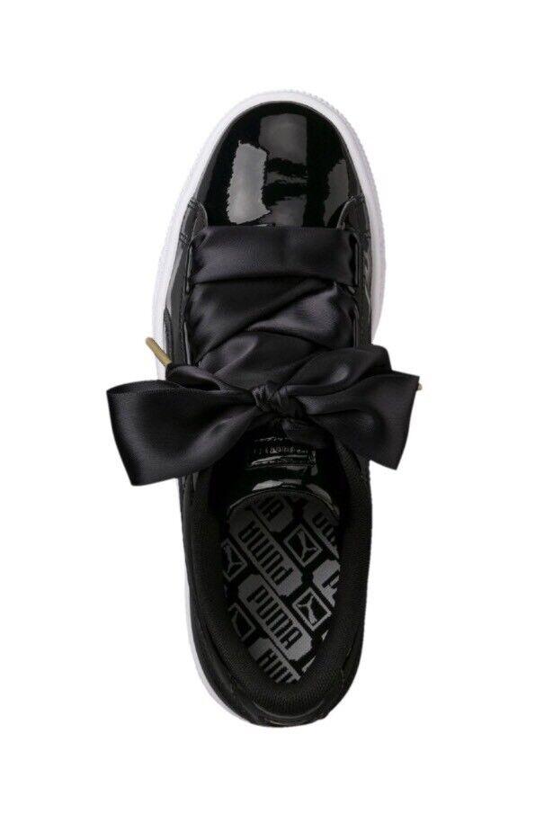 Cheapest On Ebay    Women's Black Puma Puma Puma Heart Basket Patent Trainers 86f6a7