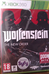 JEU-XBOX-360-034-WOLFENSTEIN-034-THE-NEW-ORDER-Action-FPS-NEUF-SOUS-BLISTER