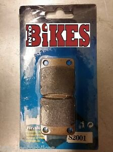 Semi Metal Front Brake Pads For YAMAHA YFM 450 Grizzly/IRS 07-09