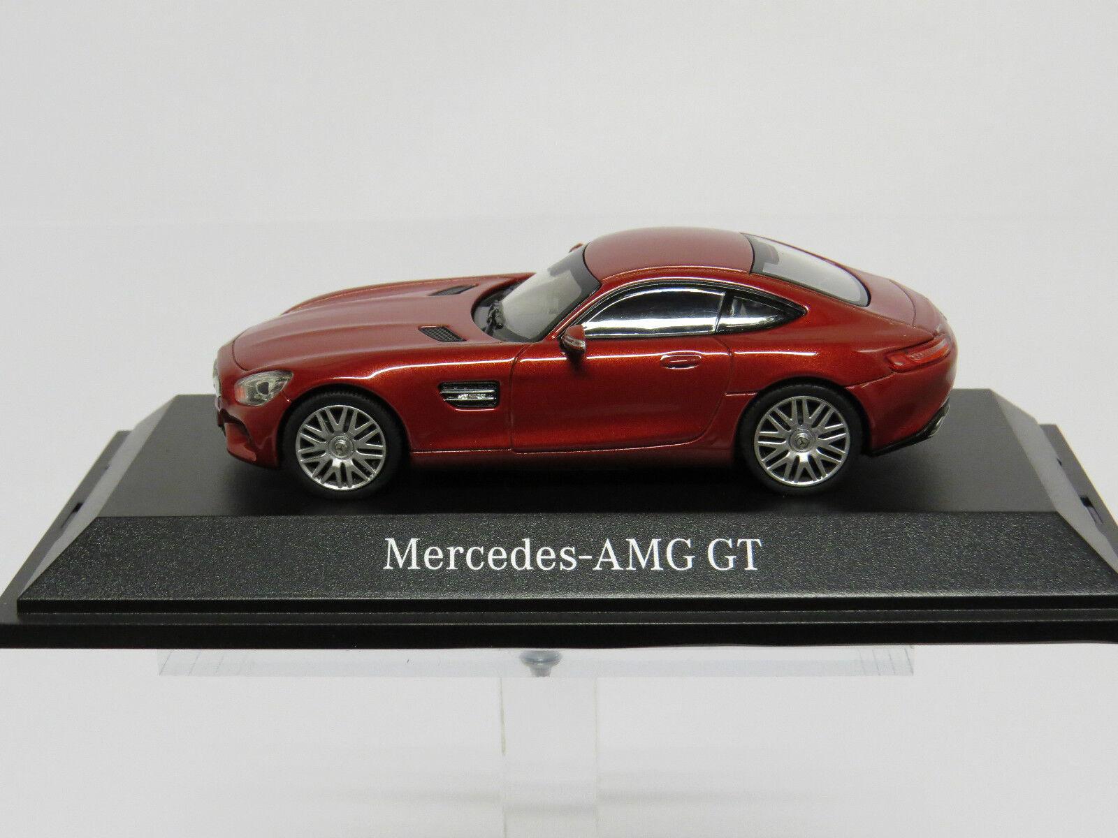 Mercedes - benz amg-gt designo hyazinthe rot metallic - 1   43 b66960338 dealer.