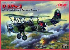 POLIKARPOV U-2 /Po-2 AMBULANCE (SOVIET AF MARKINGS) #72242 1/72 ICM