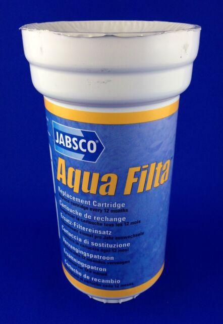 Jabsco Aqua Filta Fresh Water Filter Replacement Purification Cartridge RS29