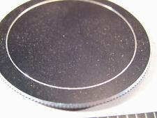 62mm Screw-On Aluminum Lens Cap