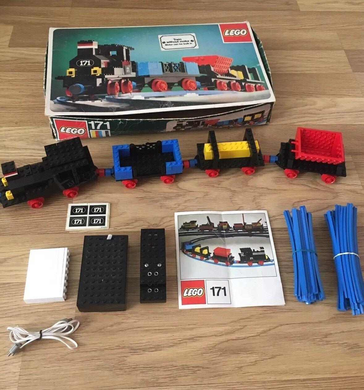 LEGO vintage train set 171 Complet Inc Inc Inc Motor   set 103 comme sur la photo | élégant  e85b52