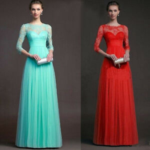 Women-Formal-Wedding-Dress-Long-Evening-Party-Ball-Prom-Gown-Cocktail-Dress