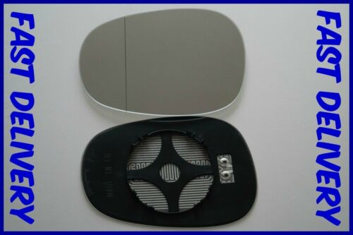 BMW 1 SERIES E87 HATCHBACK 2009-2012 WING MIRROR GLASS WIDE ANGLE HEATED LEFT