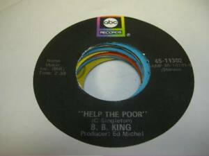 Soul-45-B-B-KING-Help-the-Poor-on-ABC