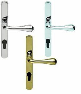 Carlisle Brass- AQ1NP92 -Narrow Plate with Stella Lever Lock Euro Profile (Pair)